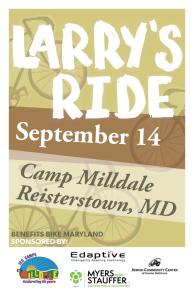 Larrys ride poster