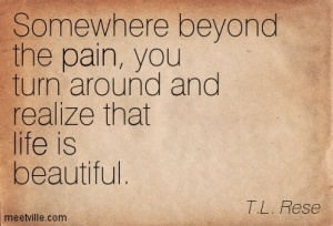 beyond the pain